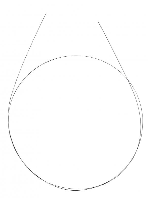 395200a Stainless Steel Straight Guidewire