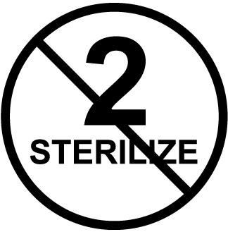 ISO15223-325 Do not re-sterilize