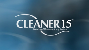 Watch CLEANER15 Rotational Thrombectomy System Video